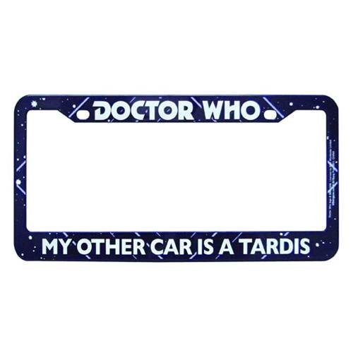 Doctor Who My Other Car is a Tardis License Plate - Plate License Other Car My Is