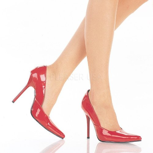 Pleaser Milan-01 - Sexy spitz geschnittene Pumps High Heels 35-45