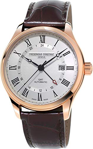 Frederique Constant Geneve CLASSICS AUTO GMT FC-350MC5B4 Automatic Mens Watch Swiss Made