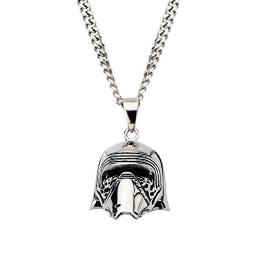 Star Wars: Kylo Ren 3D Pendant Necklace 316 Stainless Steel, 3308B