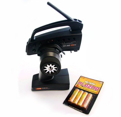 HPI TF-40 2.4GHz 3 Channel RADIO & AA BATTERIES (Receiver Savage X SS XL XS Flux