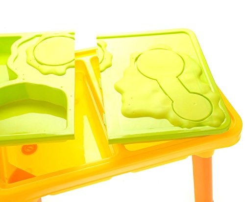 CHIMAERA Multi-Play 2-in-1 Sandbox / Sand and Water Table with Beach Playset by CHIMAERA (Image #7)