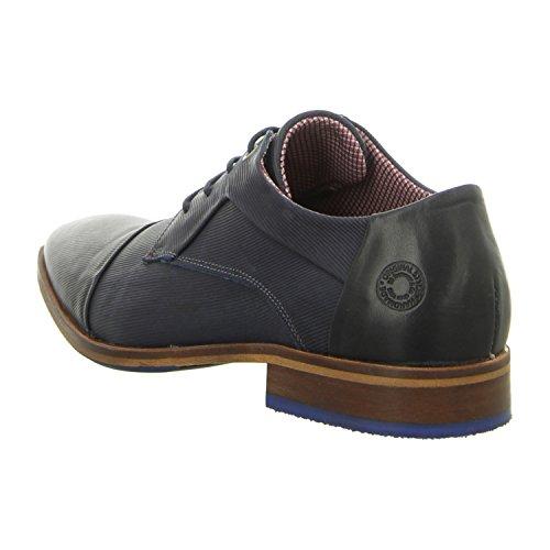BULLBOXER 699k26303ap656 - Zapatos de cordones de Piel Lisa para hombre blue (p656)