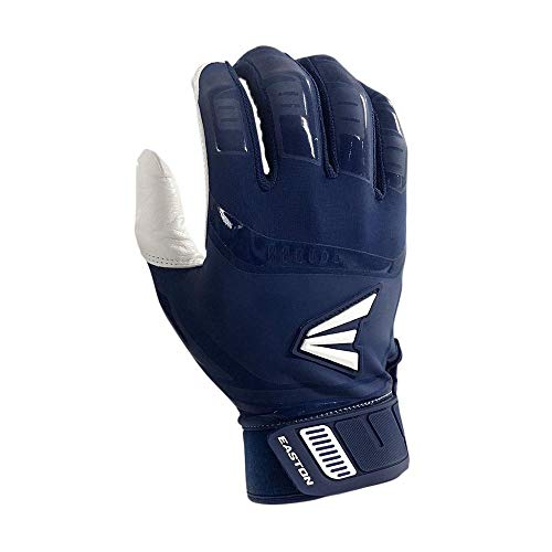 Easton Walk-Off Fast Pitch Batting Glove, Adult, Extra Large, WHITE/NAVY
