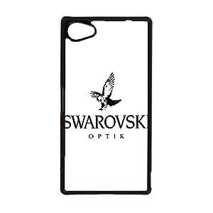 wonderful design SWAROVSKI logo phone case for Sony Xperia Z5 Compact luxury SWAROVSKI logo Protective cover Case
