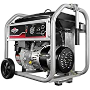 Briggs & Stratton 30550 3500-Watt Gas Powered Portable Generator with 1150 Series OHV 250cc Engine and Never Go...