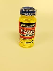 Tylenol Arthritis Pain Caplets (E-Z Open Cap), 650 mg, 100 Count Bottles (Pack of 2)