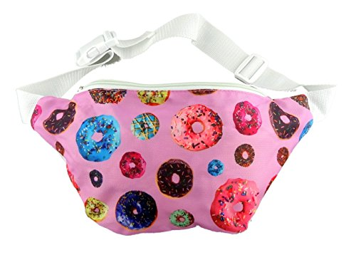 Funny Guy Mugs Donut Fanny Pack (Easy Halloween Costumes For Guys)