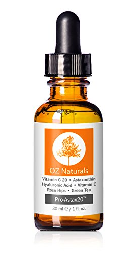 OZ Naturals - THE BEST Vitamin C Serum For Your Face Contains Clinical Strength 20% Vitamin C  Hyaluronic Acid Anti Wrinkle Anti Aging Serum For A Radiant & More Youthful Glow Guaranteed The Best