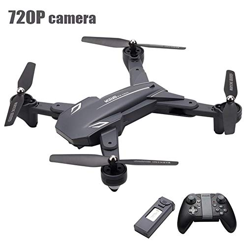 Ceepko VISUO XS816 RC FPV Drone, Quadcopter, WiFi Connection, GPS Positioning, 720P Camera 360 Degree Panoramic Shooting, Foldable, Streamer Positioning, 3D Flip, Suitable for Children Adults