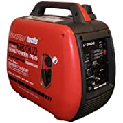Portable Generator Inverter Gasoline Powered with Yamaha MZ80 Engine, Super-Quiet Muffler and Thermal Overload...