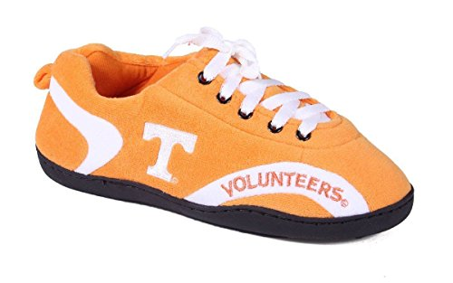- TEN05-4 - Tennessee Volunteers - XL - Happy Feet Mens and Womens All Around Slippers