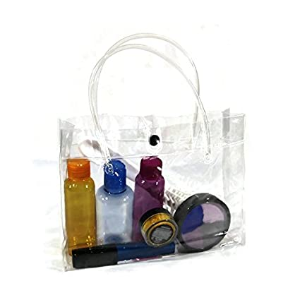 Clear Vinyl Purse Great As Birthday Gift Bags Favor For Kids