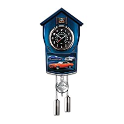 Chevy Camaro Cuckoo Clock by The Bradford Exchange
