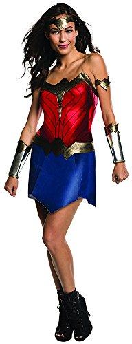 Rubie's Women's Batman v Superman: Dawn of Justice Wonder Woman Costume, Multi, Small