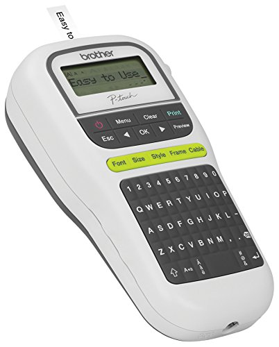 brother p touch label maker p touch easy portable label maker pth110 28719