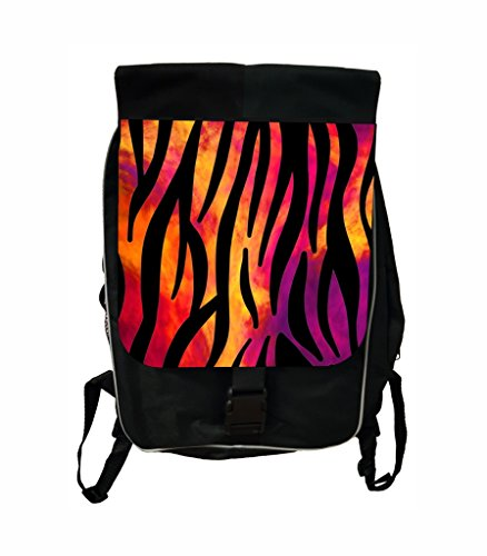 (Watercolor Zebra Print Lea Elliot TM School Backpack and Pencil Case SET)