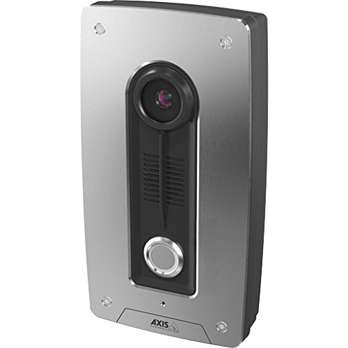 (Axis Communications 0673-001 A8004-VE Video Door Station, Network surveillance camera, Black/gray)