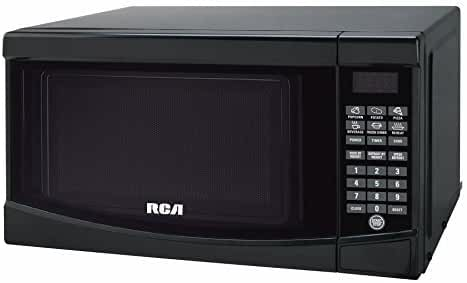RCA RMW733-BLACK Microwave Oven, 0.7 cu. ft., Black by RCA