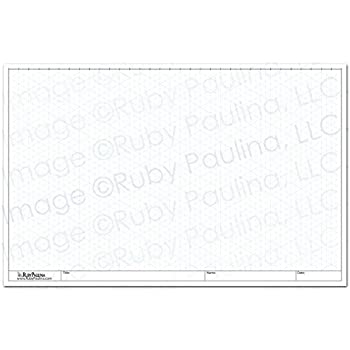 Amazon.Com : 11X17 Isometric Grid Pad, White (579680) : Graph