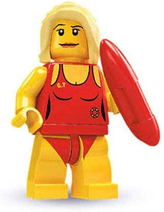 LEGO - Minifigures Series 2 - LIFEGUARD