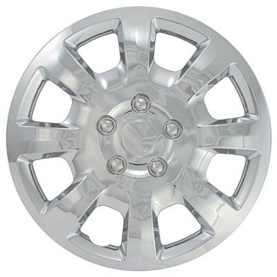 (Aftermarket Wheel Covers; 16 Inch; Silver Finish; Abs; 8 Spoke;)