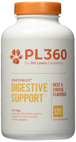 PL360 Digestive Support for Dogs, DigestAbles, 120ct