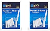 Lee's Aquarium Discard-A-Stone Plastic Air Diffusers, Coarse Bubble ... (12 Count)