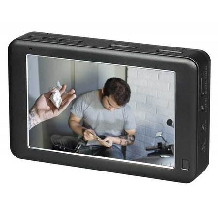 - HD 1080p Touchscreen Micro DVR with 5-inch Screen and 320GB Hard Drive