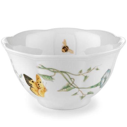 Lenox名瓷蝶舞花香饭碗,吃饭,喝汤都很适合