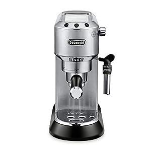 De'Longhi EC685M Dedica Deluxe Automatic Espresso Machine, 1, Metallic