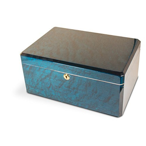 Humidor for 100 cigars Emerald / Green / Azul (Crafters Humidor Cuban)