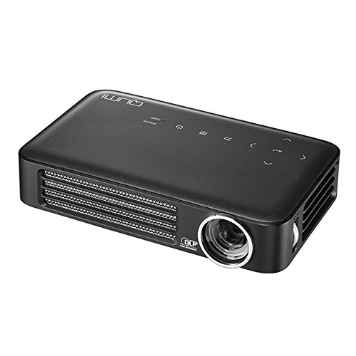 Vivitek Qumi Q6-GY Q6 800 Lumen WXGA LED MHL HDMI Projector with Wireless and Miracast Capability (Gray)