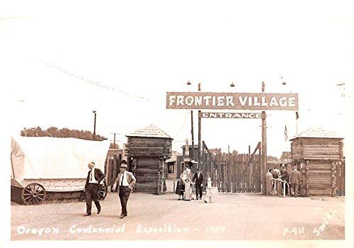 Oregon Centennial Exposition Cottage Grove, Oregon postcard