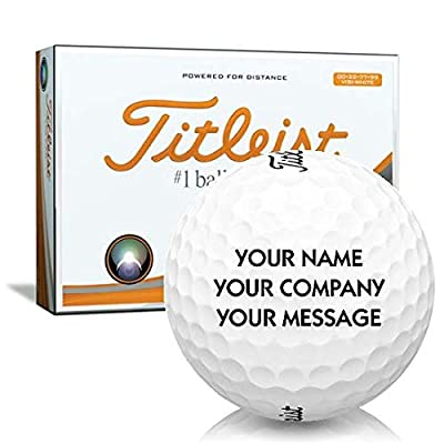 Titleist Velocity Double Digit Personalized Golf Balls