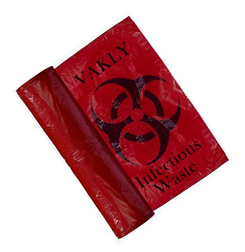 (Vakly Biohazard Waste Disposable Bag 24