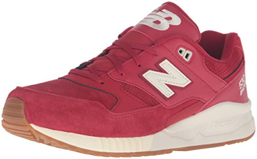 New Balance Mens 530 Summer Waves Collection Lifestyle Sneaker Rosso