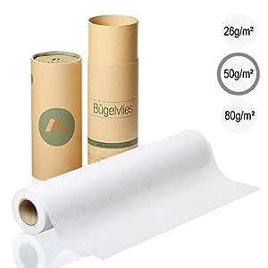 Amazy fieltro para manualidades (blanco   50 g / m2) – Fieltro adhesivo ideal