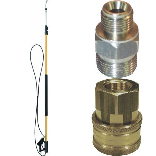 Electric Pressure Washers Quick Connect Components Connectors for Telescoping Lance