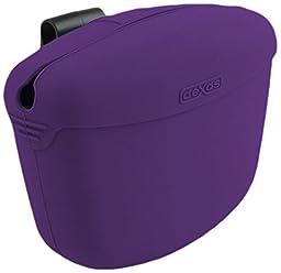 Dexas Popware for Pets Pooch Pouch, Gray/Purple