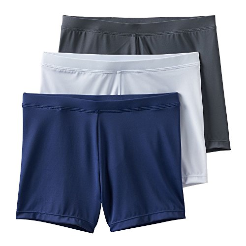 Pals Monkey (Playground Pals Mini-shorts 3-pack (X-Large 14-16, Navy White Grey))