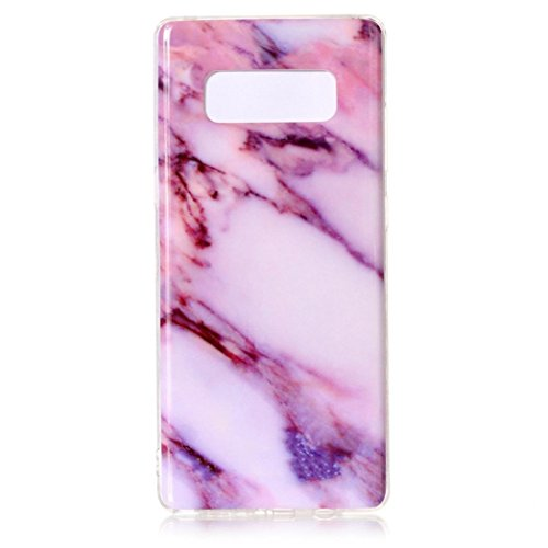 Blue Opal Granite (Coohole For Samsung Galaxy Note 8 ! New Marble Pattern Phone Protective Case Cover (G, Note 8))