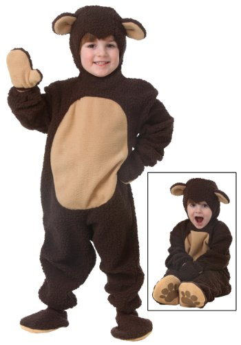Fun Costumes Toddler Bear Costume Teddy Bear Costume for Kids 4T