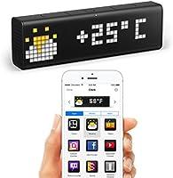 LaMetric Time WLAN-Uhr für Smart Home (funktioniert mit Amazon A