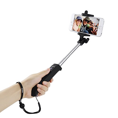 Poweradd Bluetooth Self portrait Monopod Shutter