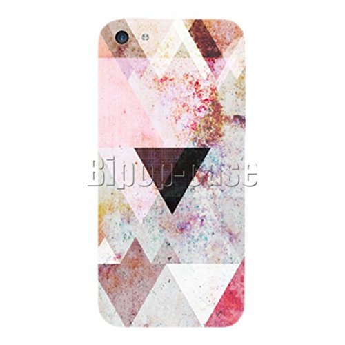 COQUE PROTECTION TELEPHONE IPHONE 5C - TRIANGLE FORME