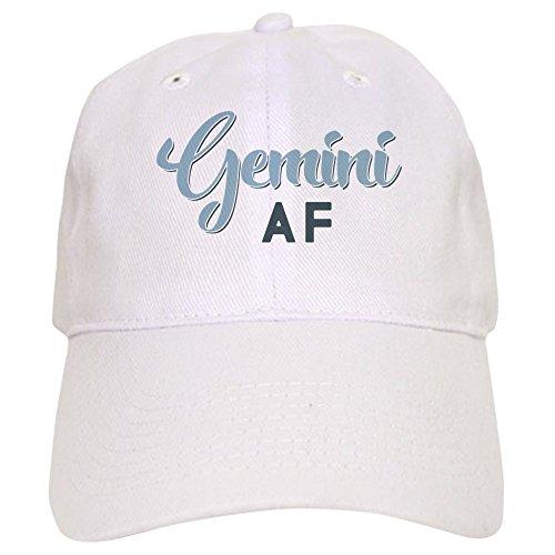 CafePress Gemini AF - Baseball Cap with Adjustable Closure, Unique Printed Baseball Hat