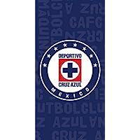 Toalla de playa del equipo mexicano del FC Cruz Azul BT003, 76 cm x 152 cm