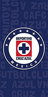 FC Cruz Azul Mexican Team Beach Towel BT003 ...