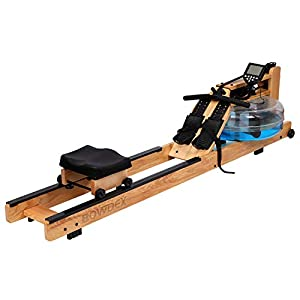 Well-Being-Matters 41OwZjwEEwL._SS300_ BOWDEX Water Rowing Machine with LED Monitor,Natural Ash Wood Water Rower for Home Gyms Fitness Use(Including Mat and…